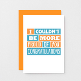 SixElevenCreations-Congratulations Card-SE0173A6-Orange