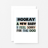 SixElevenCreations-New Baby Card-SE0238A6-White