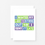 SixElevenCreations-Belated Card-SE0102A6-White