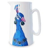 Peacock Jug Plain