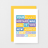 SixElevenCreations-New Home Card-SE0040A6-Golden Yellow