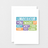 SixElevenCreations_Congratulations_SE0232A6_White