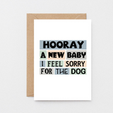 SixElevenCreations-New Baby Card-SE0238A6-Kraft