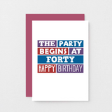 SixElevenCreations-Forty Card-SE0227A6-Burgundy