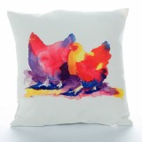 Two Fat Hens Cushion