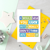SixElevenCreations-Good Luck Card-SE0041A6-Lifestyle