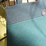 Blue Aqua Tile Tote Bag
