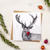 Christmas Card - Stag