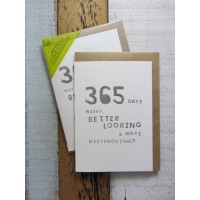 365 Male Greeting Card