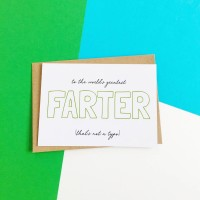 Farter Father's Day Card