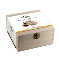 Signature Beard Care Wooden Box In Vanilla & Mango