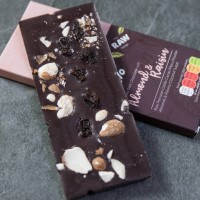 Raw Dark Chocolate With Raisin