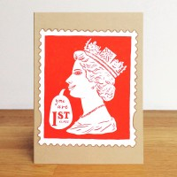 A6 Greetings Card 'You are first class'