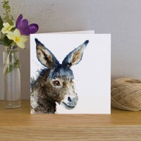 Inky Donkey Greeting Card
