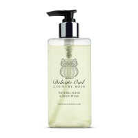 Country Cottage Rose Natural Hand & Body Wash - Ve