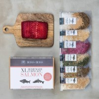 Homemade Salmon Curing Kit .. Xl