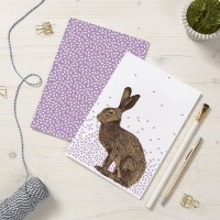 A5 Hare Notepads 2pck