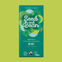 Organic & Fairtrade 72% English Mint 85g Bar