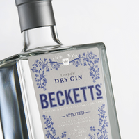 Beckett's Spirited Gin (44% Vol.) 70cl
