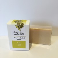 Lime, Mandarin & Basil Goat's Milk Soap (pack Of 6)