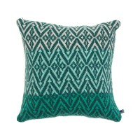 Moroccan block cushion