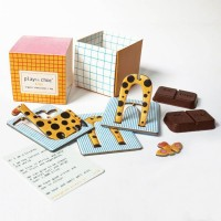 Chocolate & Animal Toy Gift Box For Kids - Endangered Animals