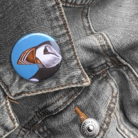 Puffin Pin Badge