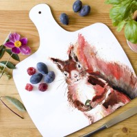 Inky Squirrel Chopping Board