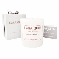 Quartz & Amber Lily - Large Luxury Candle