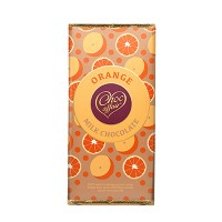 100g Orange Flavour Milk Chocolate Bar