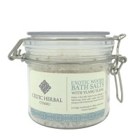 Exotic Wood Bath Salts With Ylang Ylang 350g