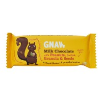 Gnaw Milk Chocolate With Peanuts & Seeds