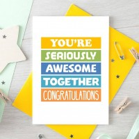 Wedding Day Card | Awesome Together