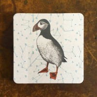 Puffin Coasters - 10pck