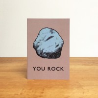 A6 Greetings Card 'You Rock'