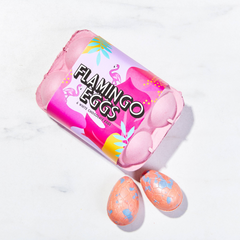 Chocolate Flamingo Eggs