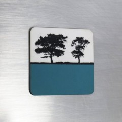 Fridge Magnet - Teal
