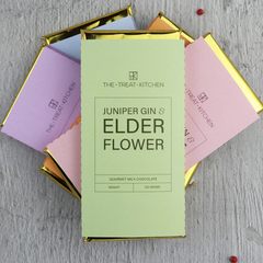 Gin & Elderflower Chocolate Bar