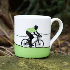 Green Jersey Bone China Mug - Individually Boxed