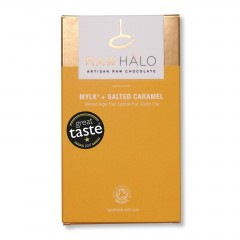 Mylk & Salted Caramel - 35g Chocolate Bar