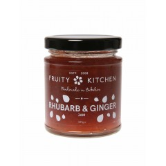 Rhubarb And Ginger Jam 227g