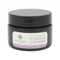 Natural Lavender Travel Soy Candle 30g