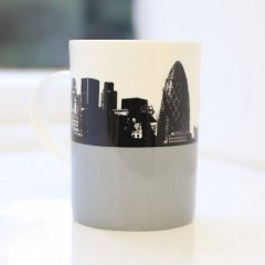 Gherkin Bone China Mug - Individually Boxed