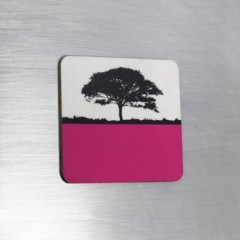 Fridge Magnet - Pink