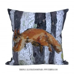 'leaping Squirrel' Cushion