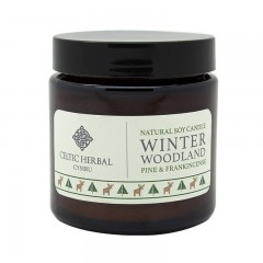 Soy Candle With Pine & Frankincense