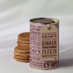 Yorkshire Parkin Biscuit Gift Tube