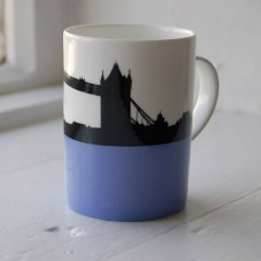 Tower Bridge Bone China Mug - Individually Boxed