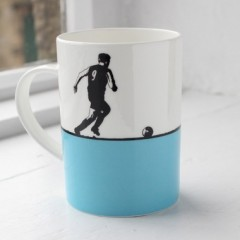 Football Bone China Mug - Individually Boxed