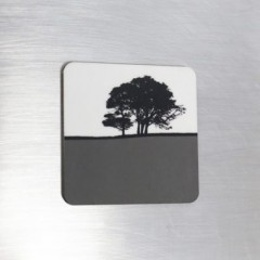 Fridge Magnet - Grey
